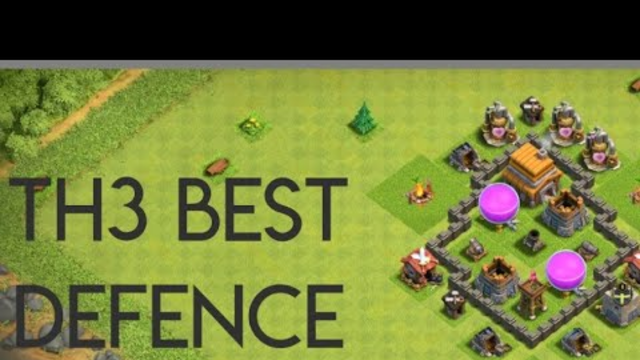 Clash of Clans- TOWN HALL 3 BEST DEFENCE BASE