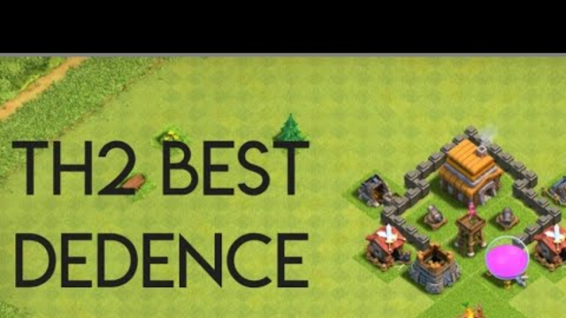 Clash of Clans- best th2 defence