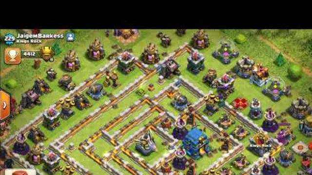 Clash of clans Th3 and attack