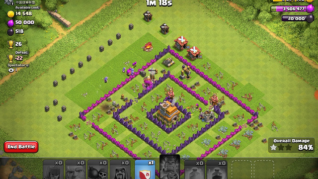 Max out townhall 7 defeated with 5 thousands elixir he had no chance lol clash of clans