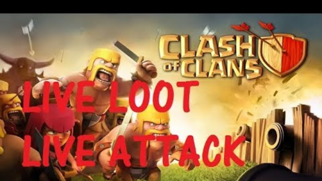 Watch me stream Clash of Clans TH8 war attack||