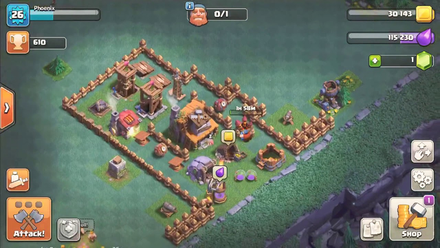 Good base in mobile game called clash of clans