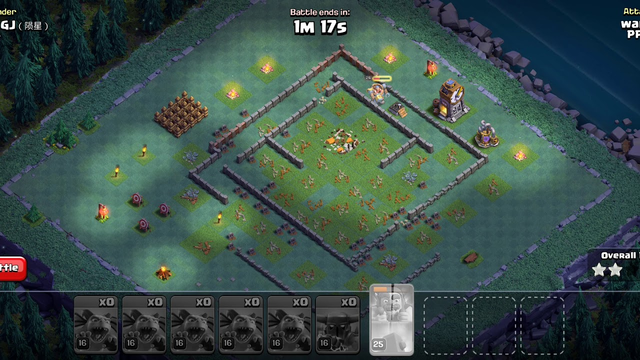 Clash of clans, 100% win,  using beta minions and one super pekka