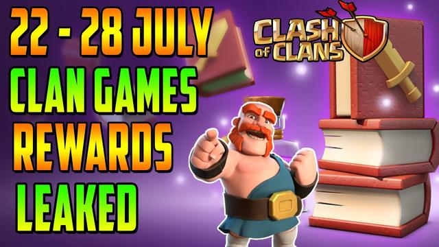 22 - 28 July Upcoming Clan Games | Next Clan Games Rewards Information | Clash of Clans (COC)
