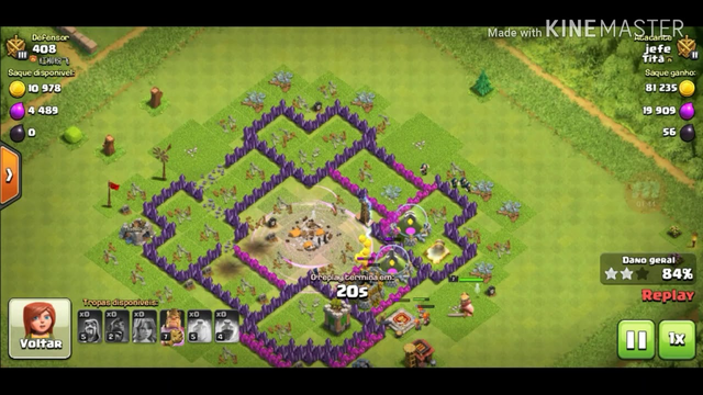 Game play de Clash of clans