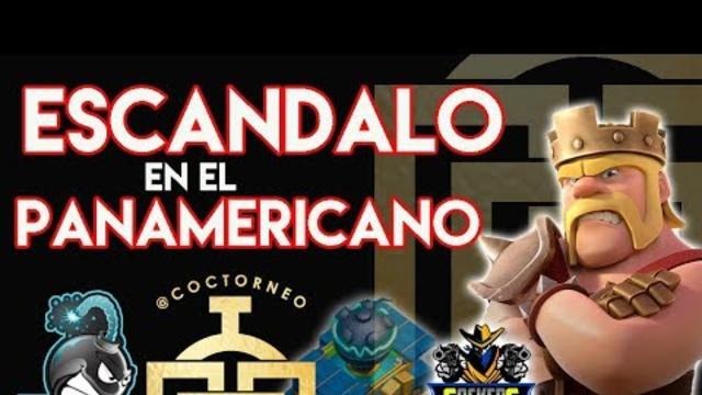 ESCANDALO EN EL PANAMERICANO. FED, OSKI Y RIGOTORRES23 + CR DRAK = THE ONE%. TH12. CLASH OF CLANS