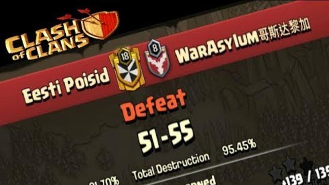 Eesti Poisid vs WarAsylum || Clash of Clans