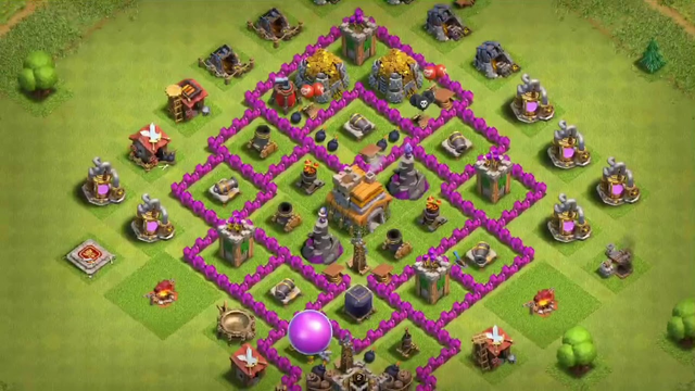Effective th7 clash of clans bases
