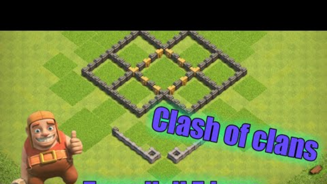 Clash of clans: th5 base building