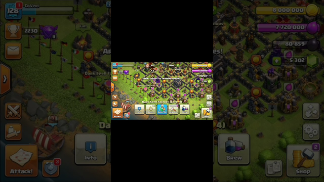 Clash of clans: Attack Dragon (Town Hall 9)