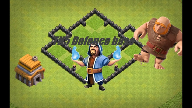 Clash of clans Th5 Defence Base