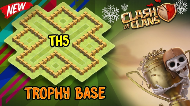 NEW Town Hall 5 (TH5) TROPHY/WAR Base Design 2019 Clash Of Clans