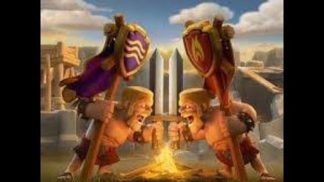 clash of clans live th7 pushing journey
