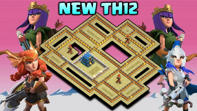 NEW TH12 UNBEATABLE BEST CLAN WAR LEAGUES WAR BASE LAYOUT / DESIGN | Anti Queen Walk :: COC