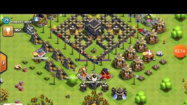 STRAGE PLAYER IN COC OF TOWNHALL 9 .
