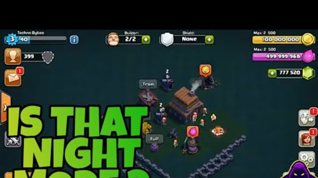 IS THAT NIGHT MODE IN COC ? || Update concept || (Clash of clans India )