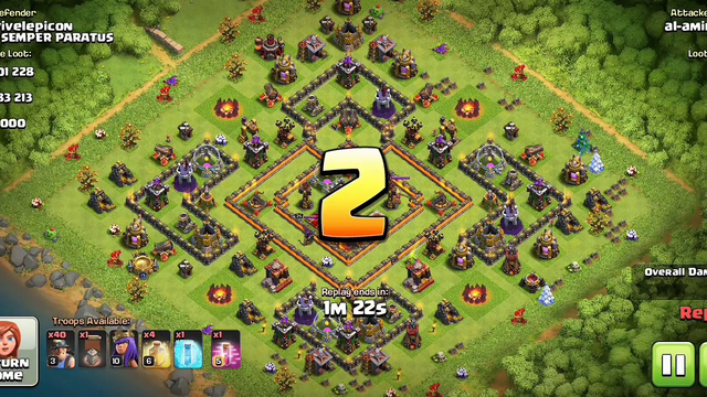 Clash of clans th10 new attack 2019