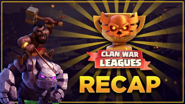 Thunder Wolves July CWL Recap | Town Hall 8/9/10 | Clash of Clans
