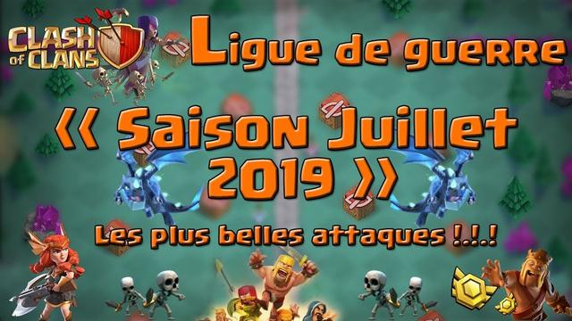 Clash Of Clans/Perfect en CWL Saison Juillet 2019/Partie II