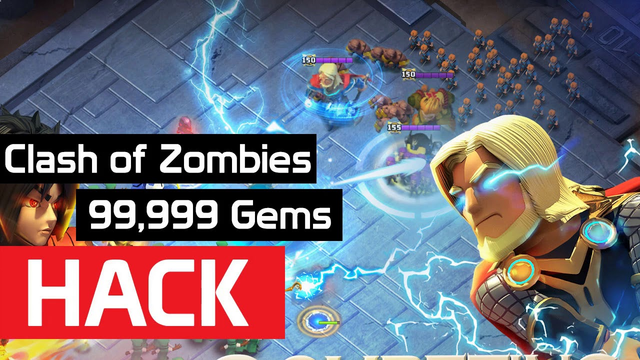 Clash Of Zombies - Clash Of Clans No Plants Vs Zombies? Plants Of Clans? Clash Of Zombies