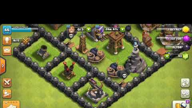 Clash of Clans Game Part 3: Archer Queen Lvl 4,Attacks,Upgrades