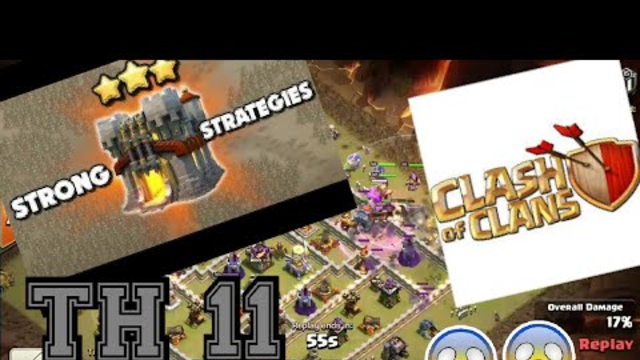 """How to 3 stars:""""Town Hall 11"""".Clash of Clans