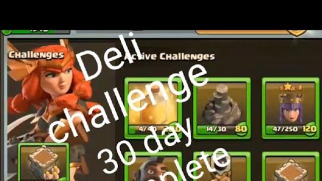 Clash of clans deli challenge attack MobizenLiveStream