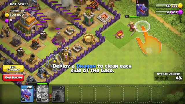 Clash of Clans | Town Hall 7 | Attacking Ep01