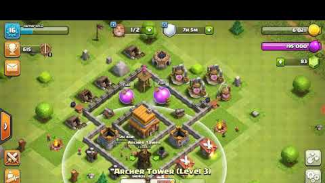 Clash of clans road to th12 #2
