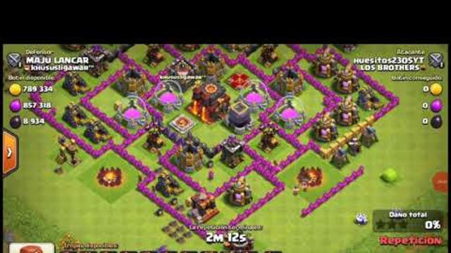Clash of Clans el ataque millonario!!!!