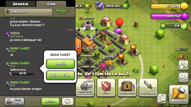 CLASH OF CLANS [FR] | LIVE .