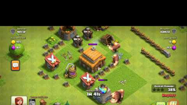Clash of clans game...