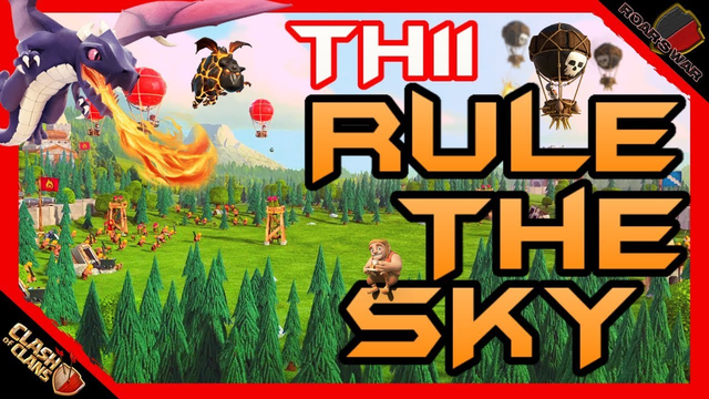 Top TH11 Air Attacks | Clash of Clans