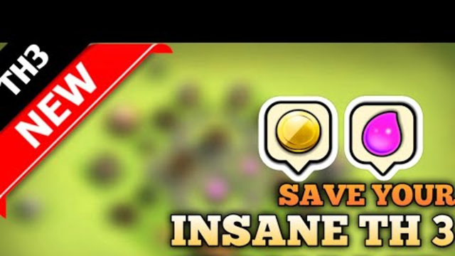 TH 3 FARM BASE - LOOT PROTECTION- 2019 NEW!!! ( CLASH OF CLANS)