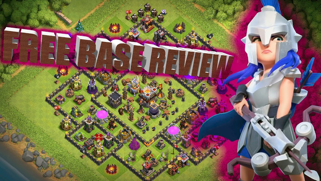 Clash Of Clans- FREE BASE REVIEWS Live War Come NOW 5v5