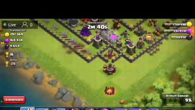 Live| Clash of clans visit your bases and th11 id give away