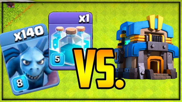 140 CLONED Minions vs. TH12 Clash of Clans Fix That Rush Episode 44