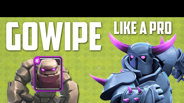 Clash of Clans - How To Do GOWIPE Like A Pro!!