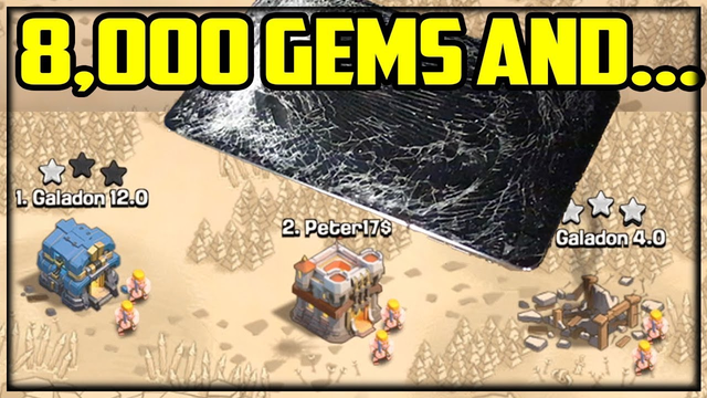 8,000 GEMS to War in Clash of Clans? Peter17$ RETURNS - SURPRISE Ending