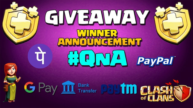 GiveAway + #QnA Session   50$ Giveaway + 7 Gold Pass Clash of clans Th11 Best war coc