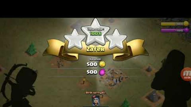 Clash of clans oynuyorum