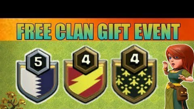 CLASH OF CLANS :- CLAN GIFT AND GIVEWAYS /// CLASH OF CLANS LIVE