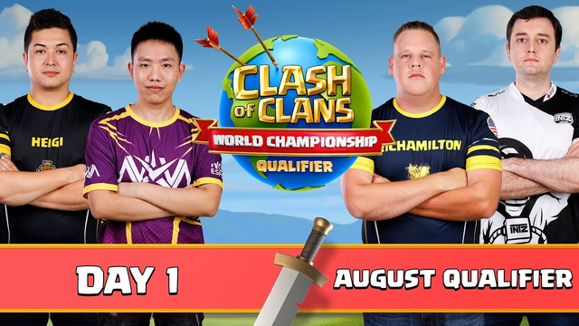 World Championship - August Qualifier - Day 1 - Clash of Clans