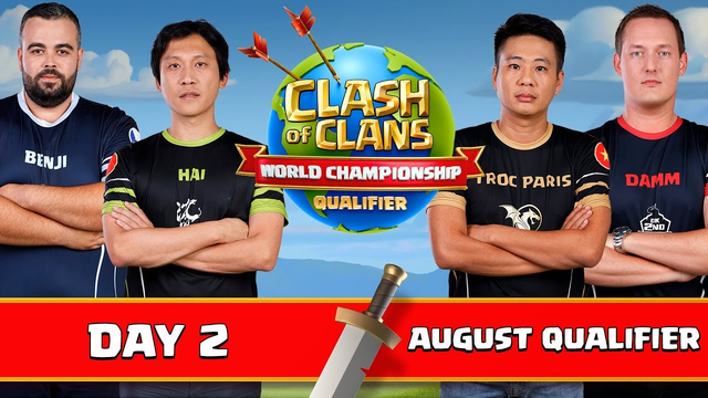 World Championship - August Qualifier - Day 2 - Clash of Clans