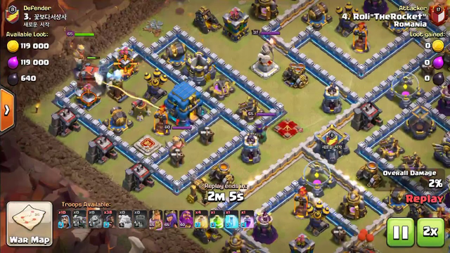 Clash of clans max th12 3 star
