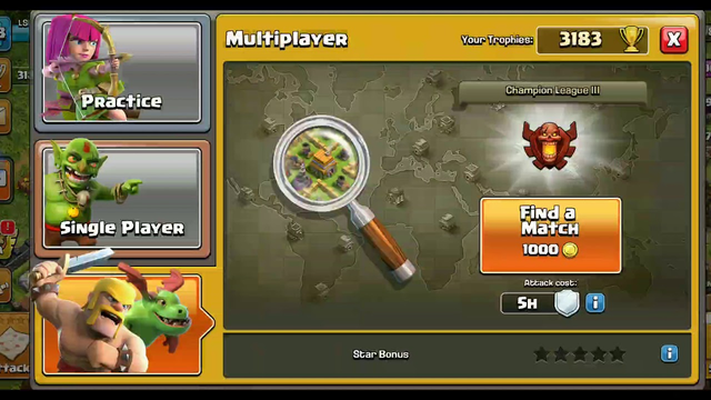 Let's play clash of clans for first time