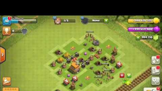 Upgrading TH1 to TH12 Clash of clans