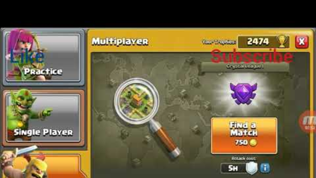 Play clash of clans with 2 songs
