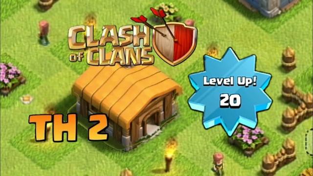 SUBIENDO A NIVEL 20 TH 2 Clash Of Clans