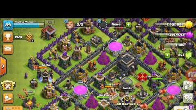 #Top clash of clans th9 attack strategy 2019